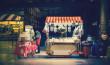 Historischer Steampunk Jahrmarkt